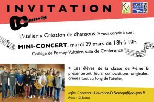 invitation 29 mars